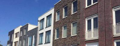Custom build housing in Almere Homeruskwartier, Netherlands