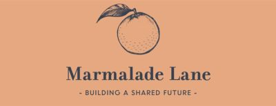 Marmalade Lane cohousing development logo: Marmalade Lane - Building a Shared Future