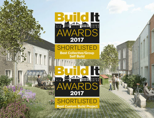 TOWN SHORTLISTED FOR BUILD IT AWARDS.