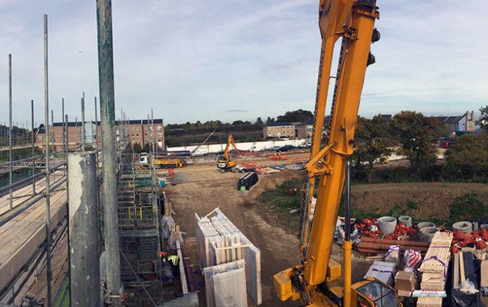 Photo of Marmalade Lane, Cambridge, under construction